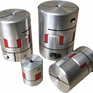 R-TEX GS Aluminium Encoder Jaw Couplings
